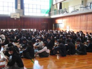 中学生が400人集合